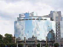 Hyatt ouvre l'hôtel cinq étoiles près de la place de Sofia Image stock