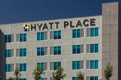 Hyatt Place Motel Royalty Free Stock Image