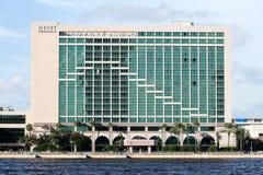 The Hyatt Regency, Jacksonville, Florida Stock Photos