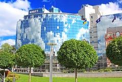 Hyatt Regency Kyiv opent vijfsterrenhotel dichtbij het vierkant van Sofia in Kyiv, de Oekraïne royalty-vrije stock fotografie