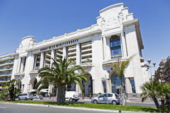 Hyatt Regency Nice Palais de la Mediterranee Royalty Free Stock Photos