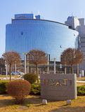 Hyatthotel Stock Afbeelding