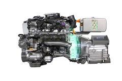 Hybrid-Antrieb des Autos V6 lizenzfreies stockbild