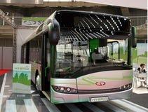 Hybrid bus stock photography