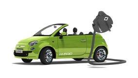 Hybrid car royalty free stock images