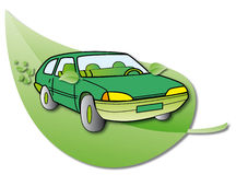 Hybrid Car Royalty Free Stock Image