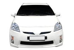 Hybrid car isolated Royalty Free Stock Images