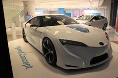 Hybrid Car Model Royalty Free Stock Image