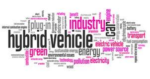 Hybrid car Stock Photos