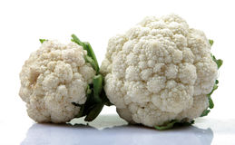 Hybrid Cauliflowers Royalty Free Stock Photos