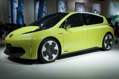Hybrid concept car stock image