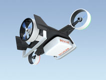 Hybrid drone flying in the sky Royalty Free Stock Image
