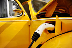 Hybrid electric classic car Royalty Free Stock Photo