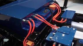 Hybrid- lastbilsystem stock video