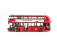 Hybrid- London bussar royaltyfri bild
