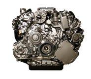 Hybryd bilmotor från Mercedes arkivfoto
