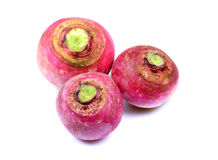 Hybrid red turnips Royalty Free Stock Photos