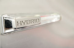 Hybrid Sign Stock Image