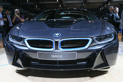 Hybrid Sportscar BMW i8 Stock Photography