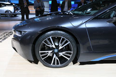 Hybrid Sportscar BMW i8 Royalty Free Stock Photo