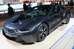 Hybrid Sportscar BMW i8 Stock Photos