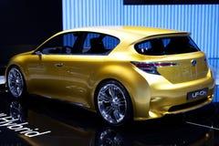 Hybride Auto Royalty-vrije Stock Afbeeldingen