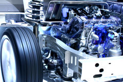 Hybride Auto Royalty-vrije Stock Foto