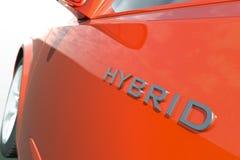Hybride auto Royalty-vrije Stock Foto's