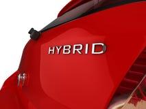Hybride Auto Royalty-vrije Stock Fotografie
