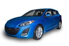 hybride compact bleu Photo libre de droits