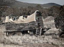 Hybride de chariot couvert Photo libre de droits
