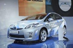 Hybride de connexion de Toyota PRIUS Images libres de droits