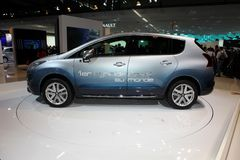 Hybride de Peugeot 3008 photos stock