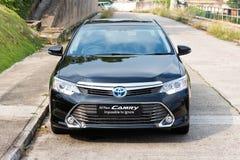 Hybride 2014 de testaandrijving van Toyota Camry Royalty-vrije Stock Foto's