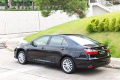 Hybride 2014 de testaandrijving van Toyota Camry Royalty-vrije Stock Afbeelding