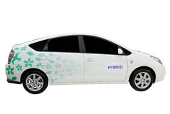 hybride de véhicule photographie stock