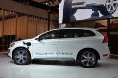 Hybride de Volvo XC-60 Photographie stock