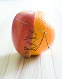 Hybride Frucht Stockfoto