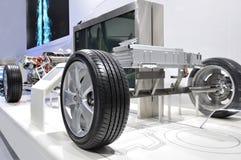 Hybride het synergismeaandrijving van Toyota Stock Fotografie