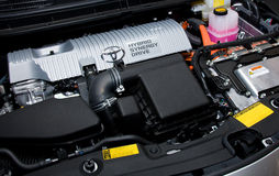 Hybride motor Royalty-vrije Stock Afbeelding