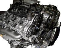 Hybride motor van een auto Royalty-vrije Stock Foto's