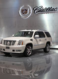 Hybride SUV de Cadillac Escalade Photo stock