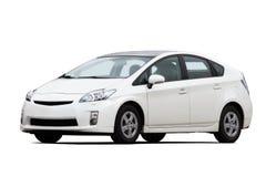 Hybride voertuig royalty-vrije stock afbeelding