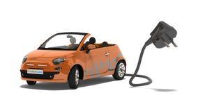 Hybrides Auto Lizenzfreie Stockfotos