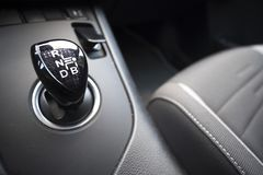 Hybrides Auto CVT des Automatikgetriebes ununterbrochen variabel stockbilder