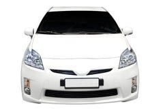 Hybrides Auto getrennt Lizenzfreie Stockbilder