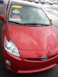 Hybrides Auto: Toyota Prius Lizenzfreies Stockbild