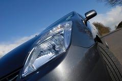 Hybrides elektrisches Auto. Stockfotos