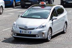 Hybrides Taxi Lizenzfreies Stockbild