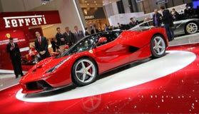 Hybridsupercar Ferraris Laferrari lizenzfreie stockfotos